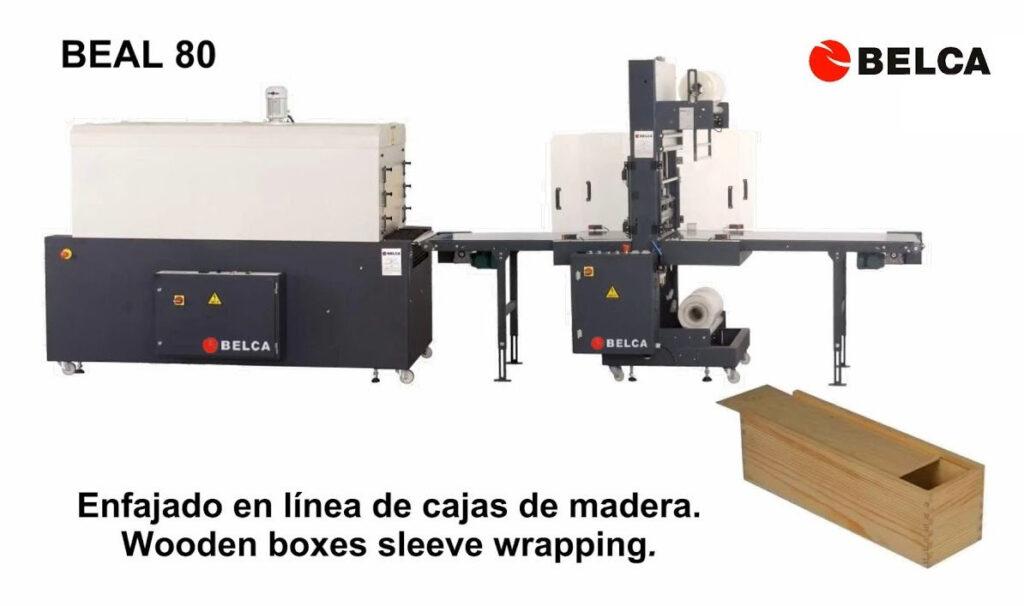 enfajado-retractil-cajas-madera-enfajadora-linea-beal80